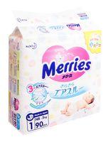 "Подгузники ""Merries. New born"" (5 кг; 90 шт.)"