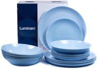 "Набор тарелок ""Diwali Light Blue"" (18 шт.; арт. P2962)"
