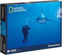 "Пазл ""National Geographic. Дайвинг в Карибском море"" (1000 элементов)"