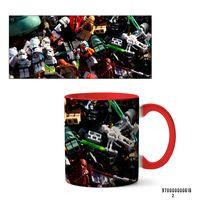 "Кружка ""Лего. Звездные войны"" (арт. 616, красная)"