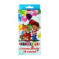 """Цветные карандаши """"Дети"""" (24 цвета; арт. DV-4802-24)"""