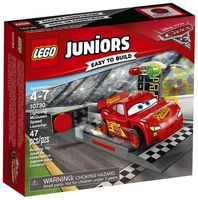 "LEGO Juniors ""Устройство для запуска Молнии МакКуина"""