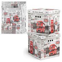 "Набор коробок складных ""England"" (2 шт.; 315х315х315 мм)"