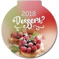 "Календарь на магните ""Десерт"" (2018)"