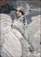 """Алмазная вышивка-мозаика """"Царевна-Лебедь"""" (700х500 мм)"""