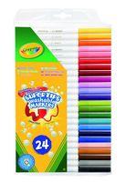 """Фломастеры """"Crayola. Тонкие"""" (24 цвета)"""