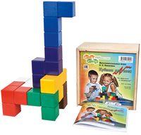 """Деревянная игрушка """"Кубики для всех"""""""