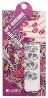 """Наклейки для дизайна ногтей """"Кружево"""" (6 шт.)"""