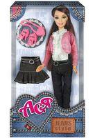 """Кукла """"Ася. Джинсовый стиль 2"""""""