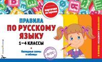 Правила по русскому языку. 1-4 классы