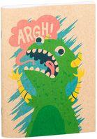 """Блокнот крафт """"Динозавр"""" А5 (арт. 098)"""