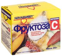 "Фруктоза ""Novasweet"" (250 г; витамин C)"