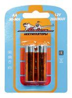 Батарейки AA HR6 аккумулятор (2600 mAh; 2 шт.; арт. AA-26-02)