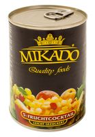 """Фрукты и ягоды в сиропе """"Mikado"""" (425 мл)"""
