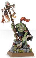 "Миниатюра ""Warhammer FB. Orc & Goblin Goblin Shaman"" (89-12)"