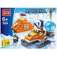 "Конструктор ""Арктика. Полярник на снегоходе"" (138 деталей)"
