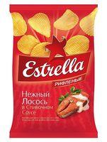 """Чипсы картофельные """"Estrella. Нежный лосось в сливочном соусе"""" (60 г)"""