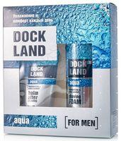 """Подарочный набор """"Dockland Aqua"""" (пена для бритья, бальзам после бритья)"""