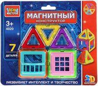 Конструктор магнитный (7 деталей; арт. DT-4020-R)