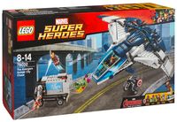 """LEGO Super Heroes """"Погоня на Квинджете"""""""
