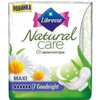 """Гигиенические прокладки Libresse Natural Care """"Maxi night"""" (7 шт)"""