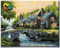 """Картина по номерам """"Альпийская сказка"""" (400x500 мм; арт. HB4050215)"""