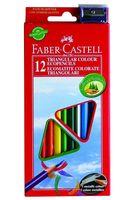 Цветные карандаши Faber-Castell ECO (12 цветов + точилка)
