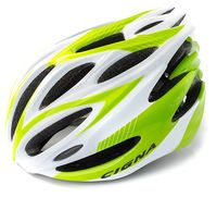 """Шлем велосипедный """"WT-029"""" (серый/зелёный/белый)"""