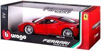 """Модель машины """"Bburago. Ferrari 488 GTB"""" (масштаб: 1/18)"""