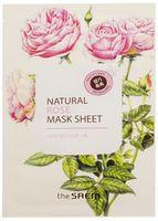 """Тканевая маска для лица """"С экстрактом розы"""" (21 мл)"""