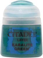 "Краска акриловая ""Citadel Layer"" (kabalite green; 12 мл)"