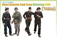 "Набор миниатюр ""Ghost Division Tank Crew Blitzkrieg 1940"" (масштаб: 1/35)"