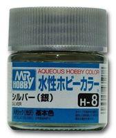 Краска Aqueous Hobby Color водоразбавляемая (silver, H-8)