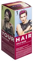 """Краска для волос """"Estel Play"""" (тон: 1, wild rose)"""