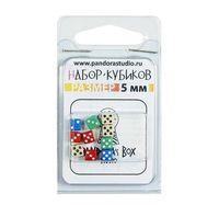 """Набор кубиков """"Мини"""" (10 шт.; в ассортименте)"""