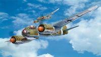 """Бомбардировщик """"Junkers Ju 88 A-4"""" (масштаб: 1/72)"""