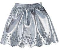 """Одежда для куклы """"Барби. Серебристая юбка"""""""