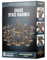 Warhammer 40.000. Chaos Space Marines. Start Collecting (70-40)