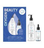 """Подарочный набор """"Oxygen Beauty"""" (сыворотка для лица, гель для умывания)"""