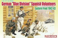 "Набор миниатюр ""German Blue Division Spanish Volunteers Eastern Front 1942-43"" (масштаб: 1/35)"