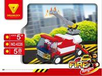 """Конструктор """"Пожарные спасатели. Пожарная машина"""" (58 деталей)"""