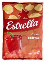 """Чипсы картофельные """"Estrella. Паприка"""" (125 г)"""