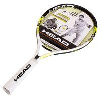 """Ракетка для большого тенниса """"Speed 21 Gr05"""" (чёрный/белый/жёлтый)"""