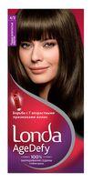 """Крем-краска для волос """"Londa AgeDefy"""" тон: 4/3, темно-золотистый каштан"""