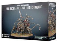 Warhammer 40.000. Chaos Space Marine. Vex Machinator, Arch-Lord Discordant (43-59)