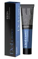 """Краска-уход для волос """"De Luxe"""" тон: 6/70, темно-русый коричневый для седины"""