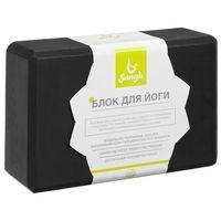 """Блок для йоги """"Sangh"""" (чёрный; арт. 4465994)"""