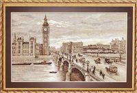 """Вышивка крестом """"Лондон. Вестминстерский мост"""""""