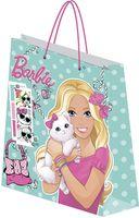 """Пакет бумажный подарочный """"Barbie"""" (33х43х10 см; арт. BRAA-UG1-3343-Bg)"""