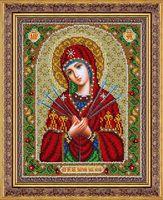 """Вышивка бисером """"Пресвятая Богородица. Умягчение злых сердец"""" (200х250 мм)"""